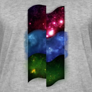 Tripple Space Pattern - Men's Vintage T-Shirt
