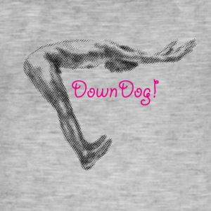 Bas Yoga Dog - T-shirt vintage Homme