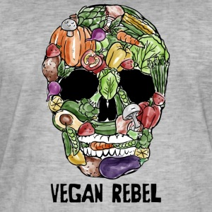 Vegan Rebel - Men's Vintage T-Shirt