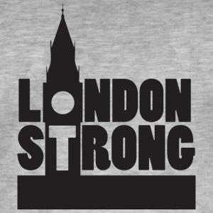 Fort III London - T-shirt vintage Homme