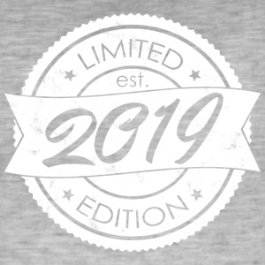 Limited Edition 2019 is - T-shirt vintage Homme
