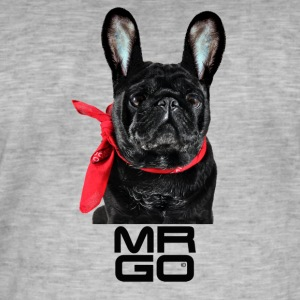 MR GO door DgedeNice - Mannen Vintage T-shirt