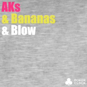 AKs & Bananas & Blow - Men's Vintage T-Shirt
