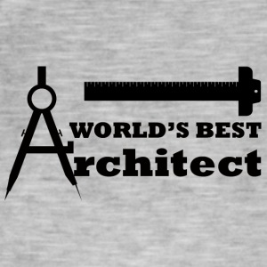 Architekt / Architektur: World´s Best Architect - Männer Vintage T-Shirt