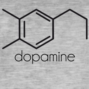 dopamine - Men's Vintage T-Shirt