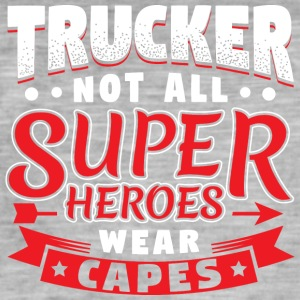 NOT ALL SUPERHEROES WEAR CAPES - TRUCKER - Männer Vintage T-Shirt