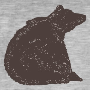 Bear Bear · · Grizzly - Mannen Vintage T-shirt