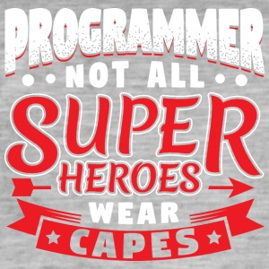 NOT ALL SUPERHEROES WEAR CAPES - PROGRAMMER - Männer Vintage T-Shirt