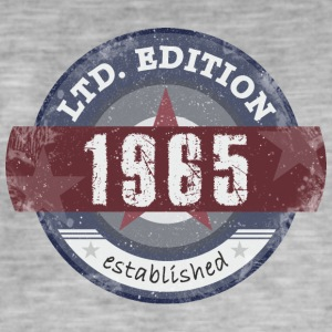 LtdEdition 1965 - Herre vintage T-shirt
