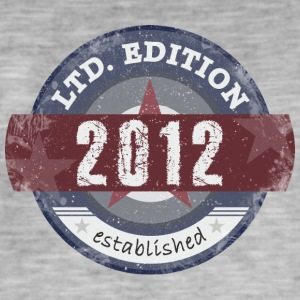LtdEdition 2012 - T-shirt vintage Homme