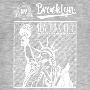 New York City · Brooklyn - Men's Vintage T-Shirt