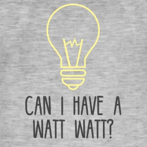 Electrician: Can i have a Watt Watt? - Men's Vintage T-Shirt