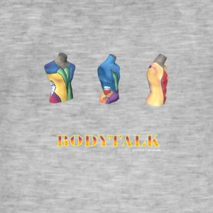 BODY TALK - Vintage-T-shirt herr