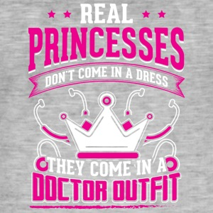 REAL PRINCESSES doctor - Männer Vintage T-Shirt