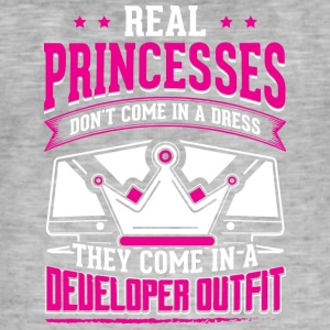 REAL PRINCESSES developer - Men's Vintage T-Shirt