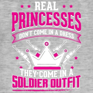 REAL PRINCESSES soldat - Vintage-T-shirt herr