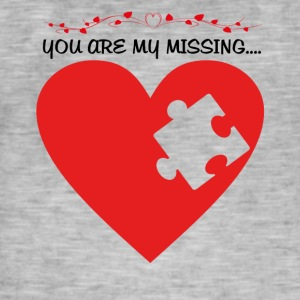 Missing Puzzle Part 1 - Men's Vintage T-Shirt