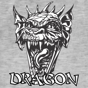 Dragon diable - T-shirt vintage Homme