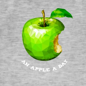 An apple a day Nerd Programmers Pc System grü - Men's Vintage T-Shirt
