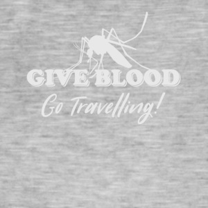 Donnez à Blood Go Traveling - T-shirt vintage Homme