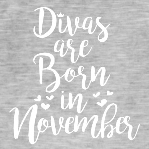 Divas are born in November - Men's Vintage T-Shirt