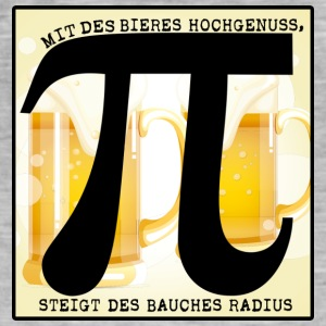 With the beer Hochgenuss! - Men's Vintage T-Shirt