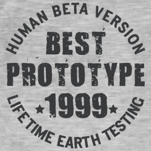 1999 - The birth year of legendary prototypes - Men's Vintage T-Shirt