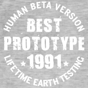 1991 - The birth year of legendary prototypes - Men's Vintage T-Shirt