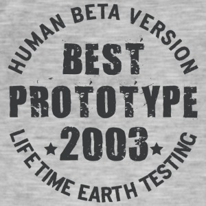 2003 - The birth year of legendary prototypes - Men's Vintage T-Shirt