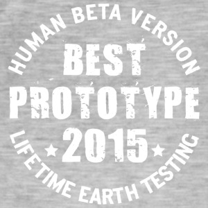 2015 - The birth year of legendary prototypes - Men's Vintage T-Shirt