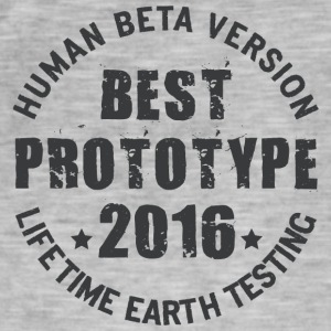 2016 - The birth year of legendary prototypes - Men's Vintage T-Shirt