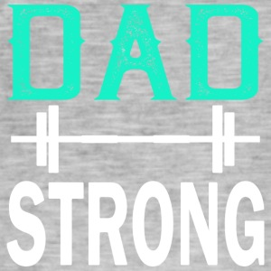 Dad Strong - fitness - Männer Vintage T-Shirt