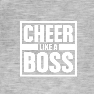 Cheer, zoals Boss - Cheerleading - Mannen Vintage T-shirt