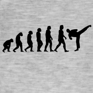karate evolution - Vintage-T-shirt herr