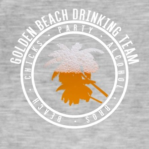 Tröja part semester - Gold Beach - Vintage-T-shirt herr