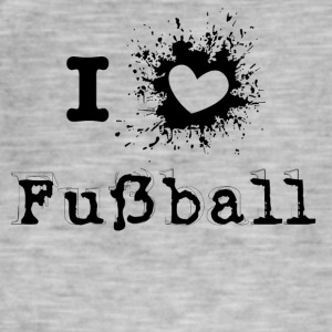 iLove Football - Men's Vintage T-Shirt