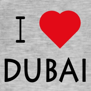 I Love Dubai - Men's Vintage T-Shirt