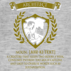 architect - Männer Vintage T-Shirt
