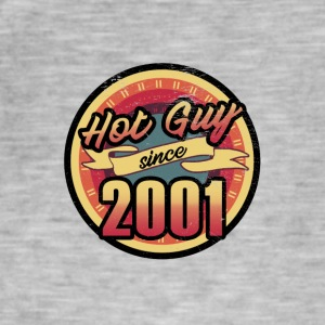 Gift for the 16th birthday - vintage 2001 - Men's Vintage T-Shirt