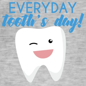 Tannlege: Everyday Tooth dag! - Vintage-T-skjorte for menn