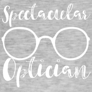 Optiker: Spectacular Optician - Männer Vintage T-Shirt