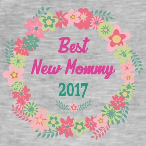 Best New Mommy 2017 - Vintage-T-skjorte for menn