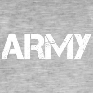 Army - Herre vintage T-shirt