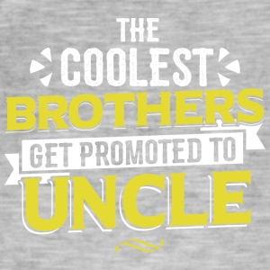 COOLEST BROTHERS GET PROMOTED TO UNCLE - Men's Vintage T-Shirt