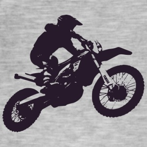 Bike motor jump - Men's Vintage T-Shirt