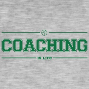 Coach / Trainer: Coaching Is Life - Men's Vintage T-Shirt