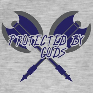 Vikings: Protected by Gods - Men's Vintage T-Shirt