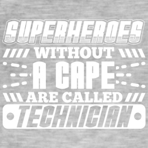 SUPER HEROES TECHNICIENS - T-shirt vintage Homme