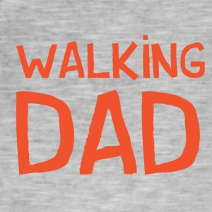 Vierdaagse Nijmegen 2017 - Walking Dad RED - Mannen Vintage T-shirt