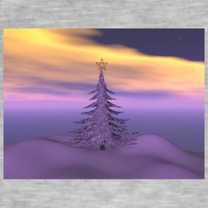 firetree_and_snow - Vintage-T-skjorte for menn